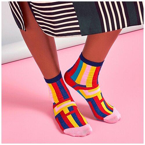 Носки для девушек Hysteria Mira Ankle - Multicolor Stripes 36-41