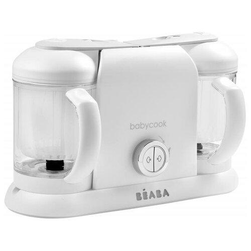 Блендер-пароварка Beaba Babycook Duo белый/серебристый