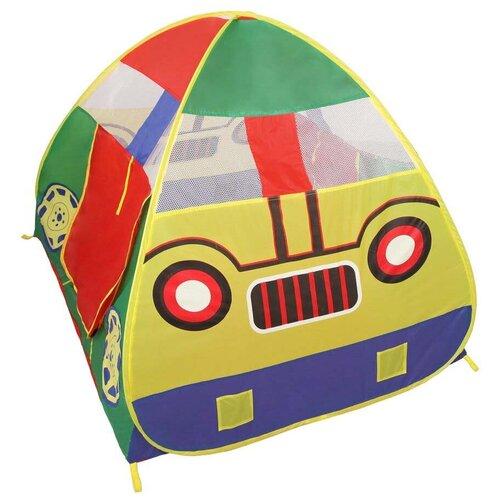 Фото - Палатка ELEGANT Машина 8101, синий/красный/желтый палатка jian hong замок принца 200280835 синий желтый
