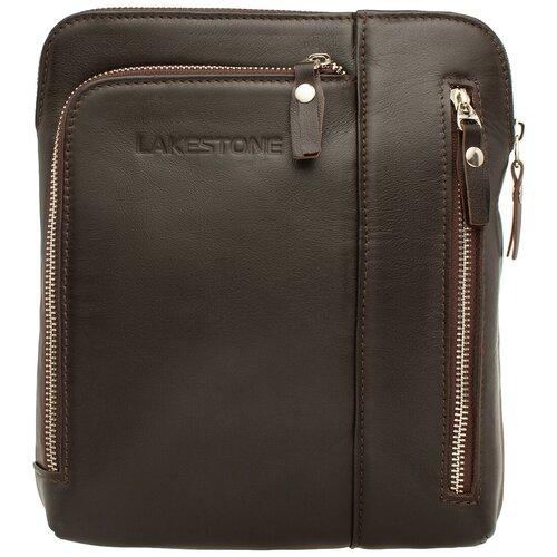 Фото - Сумка через плечо Ludlow Brown мужская кожаная коричневая сумка milano brown 9282 коричневая
