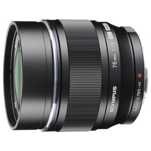 Фото - Объектив Olympus ED 75mm f/1.8 черный объектив olympus zuiko ed 40 150 mm f 4 0 5 6
