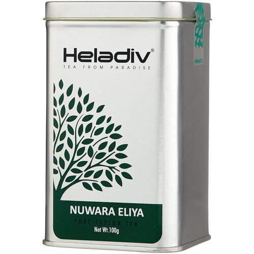 Фото - Чай черный Heladiv Nuwara Eliya, 100 г чай черный heladiv hd rasberry 100 gr round p t