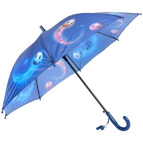 Зонт-трость полуавтомат детский Rain Lucky 915-1 LACN со свистком