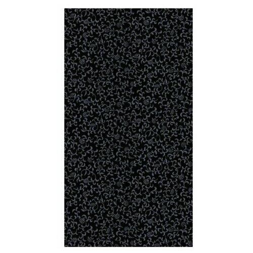 1003-343 D-C-fix 1.5х0.45м Пленка самоклеющаяся Декор цветы на черном фоне