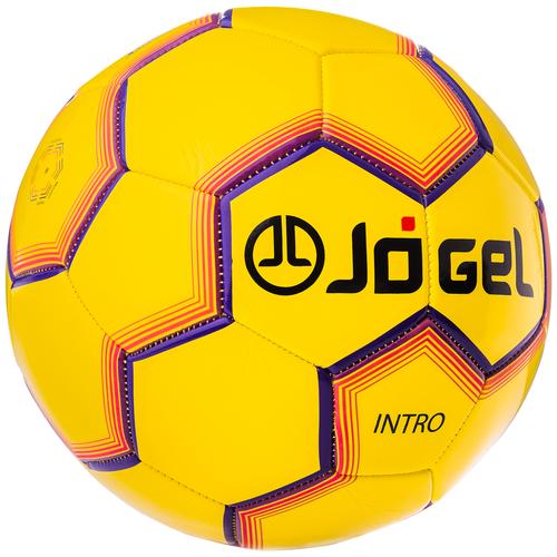 Фото - Футбольный мяч Jogel JS-100 Intro желтый 5 мяч jogel js 510 kids 3 ут 00012406