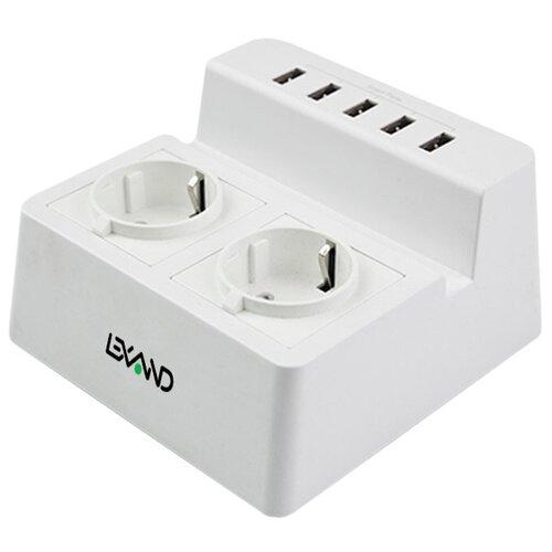 Сетевая зарядка LEXAND LP-520, белый
