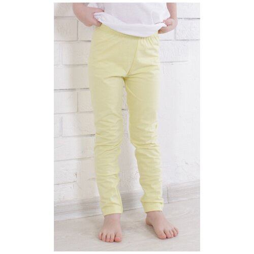 Фото - Брюки Jewel Style GB 10-130 размер 116, светло-желтый брюки jewel style gb 10 150 размер 140 синий