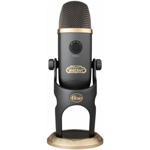 Blue Microphones Yeti X World of Warcraft Edition профессиональный USB-микрофон