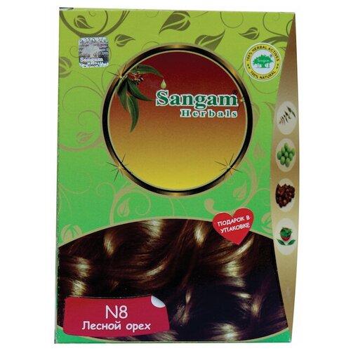 Купить Хна Sangam Herbals N8 лесной орех, 100 мл
