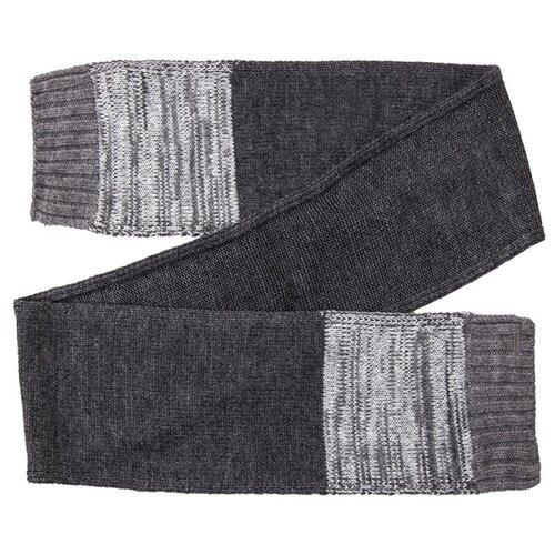 Шарф мужской Finn Flare, цвет: темно-серый A20-22143_202, размер: Единый