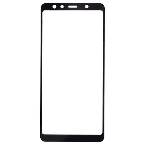 Защитное стекло Gosso FULL SCREEN для Samsung Galaxy A7 (2018) черный