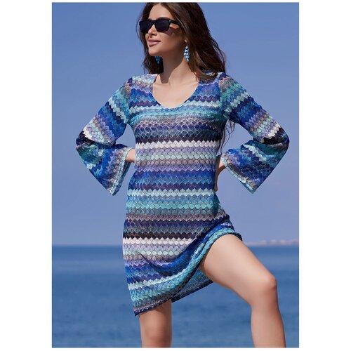 Пляжная туника MIA-AMORE Missoni, размер XS, голубой