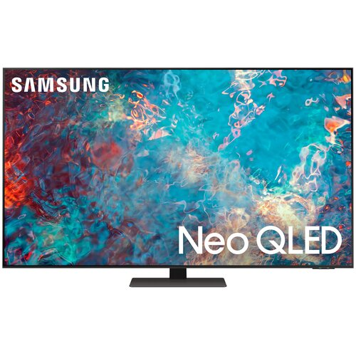"Телевизор QLED Samsung QE75QN87AU 75"" (2021) черненое серебро"