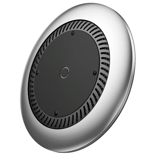 Фото - Беспроводная сетевая зарядка Baseus Whirlwind Desktop Wireless Charger, серебристый беспроводная зарядка baseus wxix 0s silver серебристый