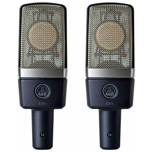 Стереопара микрофонов Akg C214 ST