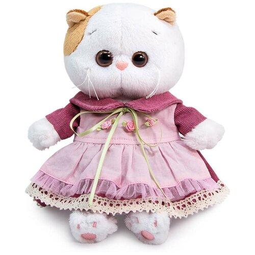 Купить Мягкая игрушка Budi Basa Basik & Co Кошечка Ли-Ли BABY в платье с передником 20 см, BUDI BASA collection, Мягкие игрушки