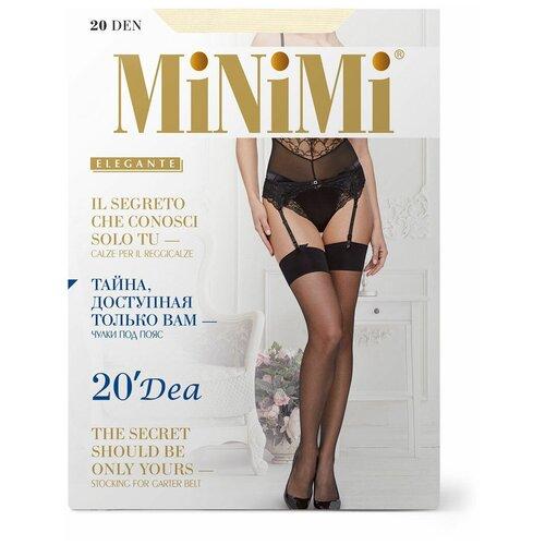 Чулки MiNiMi Dea, 20 den, размер 1/2-S, avorio (бежевый)