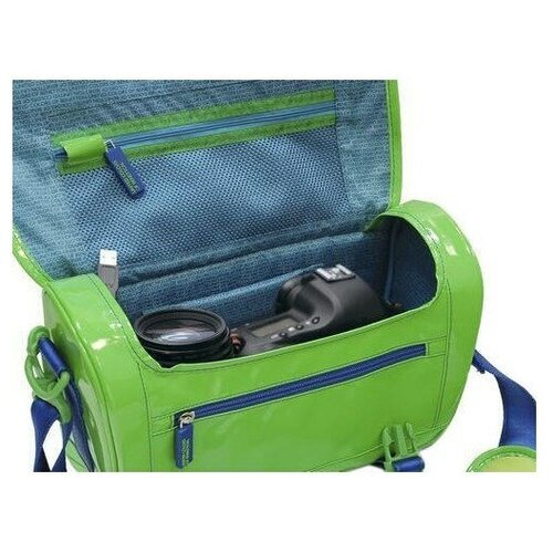 Фото - Сумка Benetton Large dslr case для зеркальной камеры green блуза united colors of benetton united colors of benetton un012ewwmb47