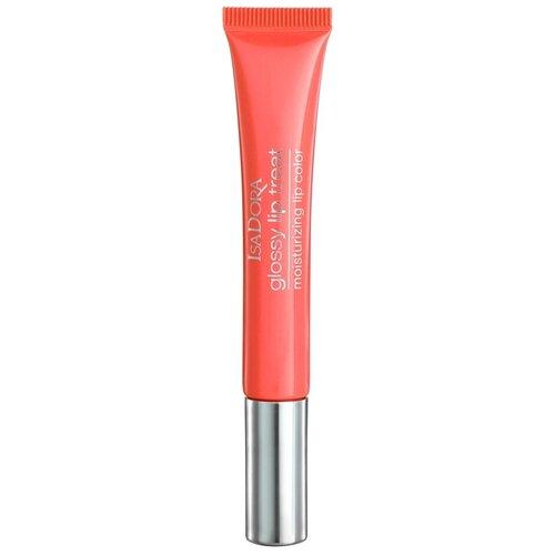 Купить IsaDora Блеск для губ Glossy Lip Treat, 60 coral rush