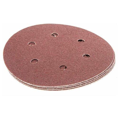 Фото - Шлифовальный круг на липучке Hammer 214-014 150 мм 5 шт шлифовальный круг на липучке hammer 214 016 150 мм 5 шт