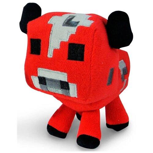 Детская мягкая игрушка ВсеИгрушки / Плюшевая Грибная Корова из игры Майнкрафт (Minecraft) для детей, мальчиков и девочек