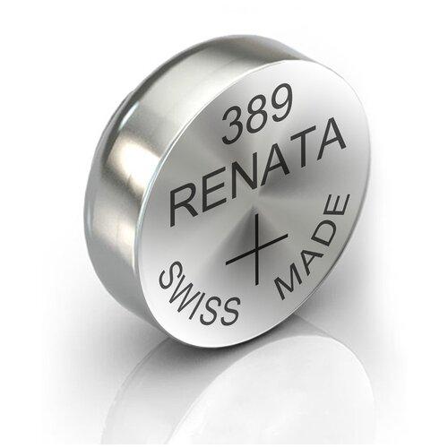 Фото - Батарейка RENATA R 389, SR1130W 1 шт. батарейка renata r 384 sr41sw 1 шт