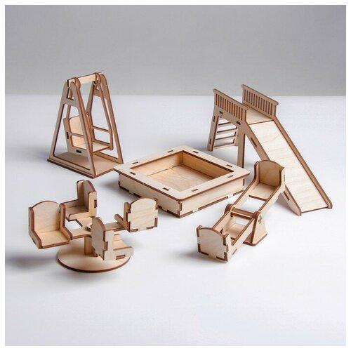 Лесная мастерская Кукольная мебель «Детская площадка»