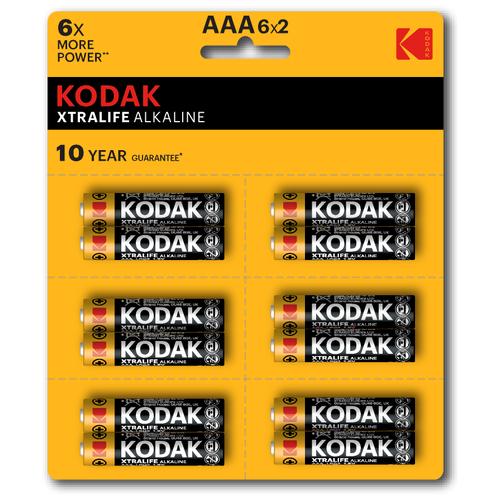 Фото - Элемент питания KODAK XTRALIFE LR03 12BL (6x2BL) [KAAA-2x6 perf] 12 шт элемент питания navigator 94 750 nbt ne lr03 bp2