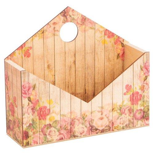 Фото - Кашпо Дарите счастье конверт №1 20,5×6×18 см бежевый набор кашпо с поддоном для орхидеи 2 в 1 счастье 1 6 л 4762333