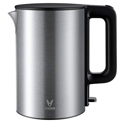 Электрический чайник Xiaomi Viomi Metal Electric Kettle EU вилка (V-MK151B Black/Metal) GLOBAL, металлический