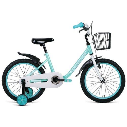 Фото - Детский велосипед FORWARD Barrio 18 (2021) бирюзовый (требует финальной сборки) детский велосипед forward barrio 18 2020 красный требует финальной сборки