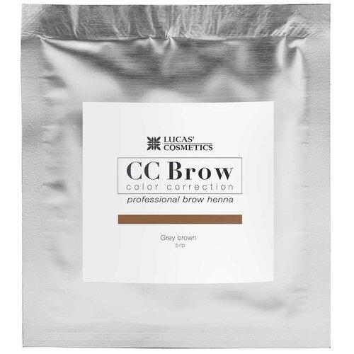 Фото - CC Brow Хна для бровей в саше 5 г grey brown cc brow хна для бровей в саше 10 г blonde