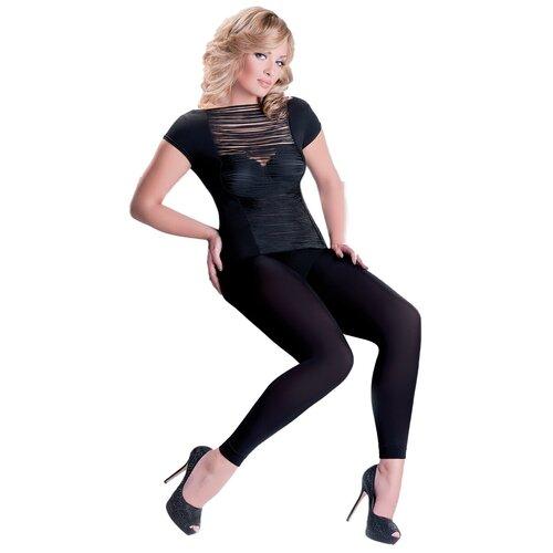 Леггинсы Gabriella Microfibre Leggings Plus Size, 100 den, размер 5/6, nero (черный)