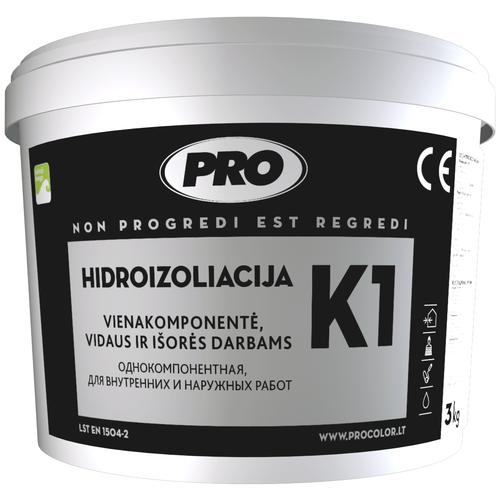 Гидроизоляция каучуковая Pro - K1 , 1кг