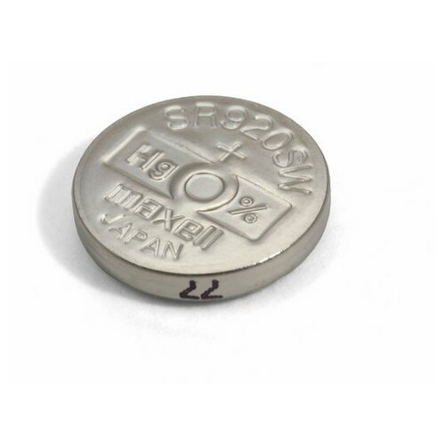 Фото - Батарейка оксид-серебряная MAXELL SR920 SW (371, SR69, G6) батарейка maxell sr 621sw 1 шт