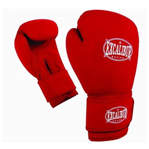 Перчатки боксерские Excalibur 8058/03 Red/White Ткань 14 унций