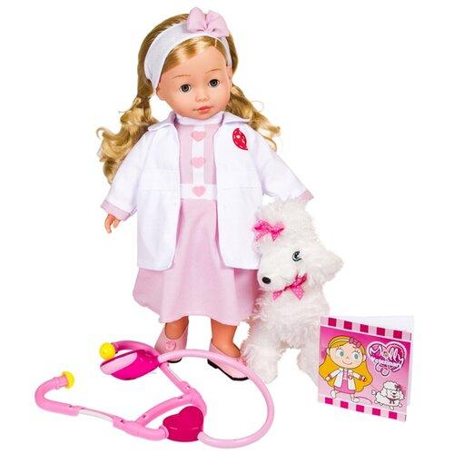 Фото - Кукла Dimian Bambolina Доктор Молли с собачкой, 40 см BD1384RU-M37 dimian