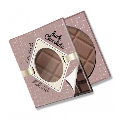 Lovely Бронзирующая пудра Dark Chocolate Bronzer черный шоколад