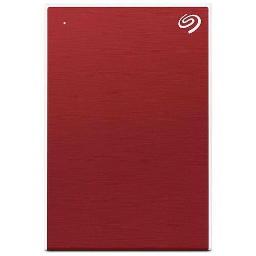 Фото - Внешний HDD Seagate One Touch 4 TB, красный внешний hdd seagate original one touch 5tb stkc5000401 серебристый