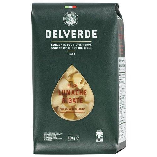 Delverde Industrie Alimentari Spa Макароны № 39 Lumache Rigate, 500 г