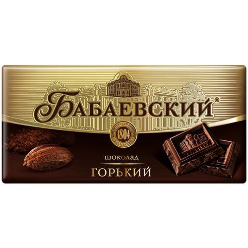 Фото - Шоколад Бабаевский горький, 58,5% какао, 100 г шоколад klaus горький с какао из перу 100 г