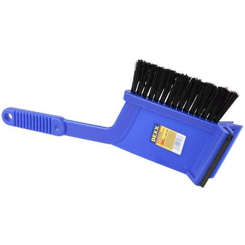 Щетка-скребок DEXX 61032-300 синий