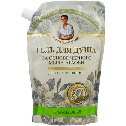 Купить Гель для душа Рецепты бабушки Агафьи на основе черного мыла Агафьи, 500 мл