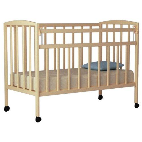 Кроватка Волжская деревообрабатывающая компания Кр1-01м (классическая) береза