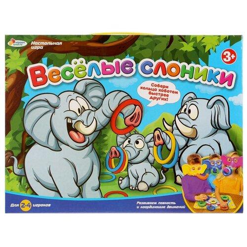 Фото - Настольная игра Играем вместе Веселые слоники настольная игра играем вместе лягушки