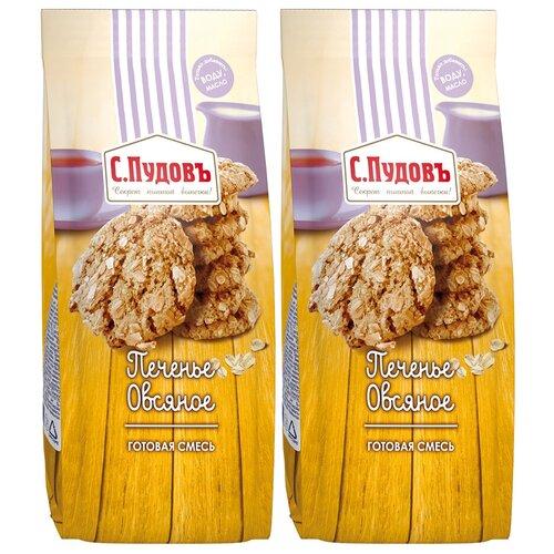Фото - С.Пудовъ Мучная смесь Печенье овсяное, 2 шт, 0.4 кг с пудовъ мучная смесь печенье имбирное с цукатами 0 4 кг