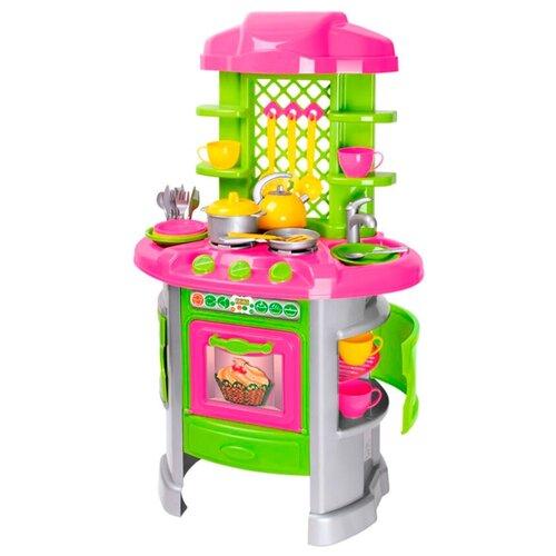 Кухня ТехноК ТехноК 0915 розовый/зеленый