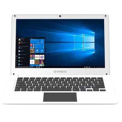 "Ноутбук Irbis NB73 (Intel Celeron J3455 1500MHz/13.3""/1920х1080/4GB/64GB eMMC/Intel HD Graphics 500/Windows 10 Home) белый"