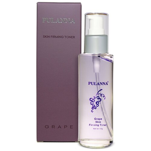 Купить PULANNA Тоник укрепляющий антистрессовый с виноградом Grape Skin Firming Toner, 60 г