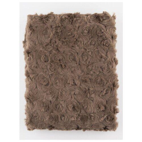 Плюш 48х48 см., PRC, PEPPY, коричневый недорого